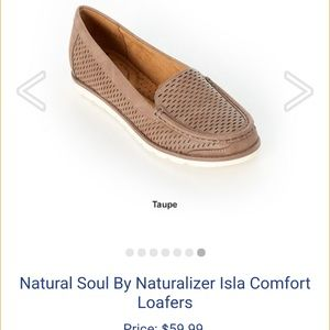 Tan/taupe loafer
